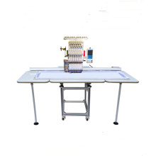 Flat/cap embroidery machine,QY-D single head large computer embroidery machine